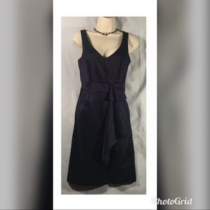 Max  & Cleo eggplant cocktail party dress  size 4